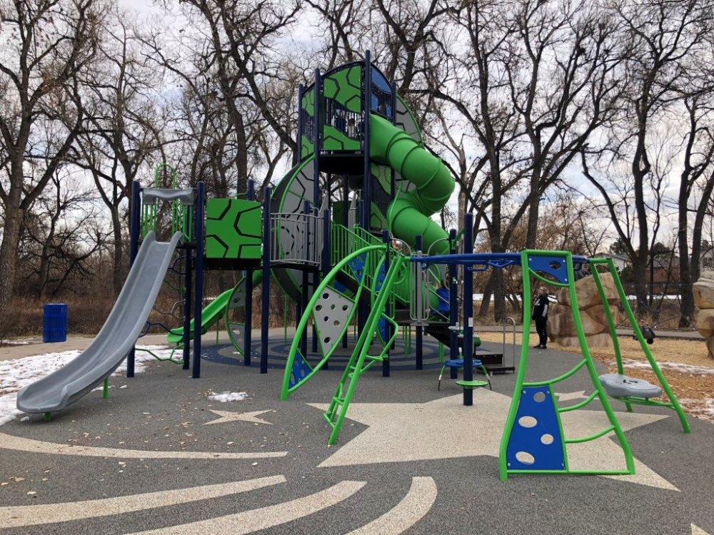 Unique Space Themed Park Complete With Moon Rover Playground Space Theme Arvada