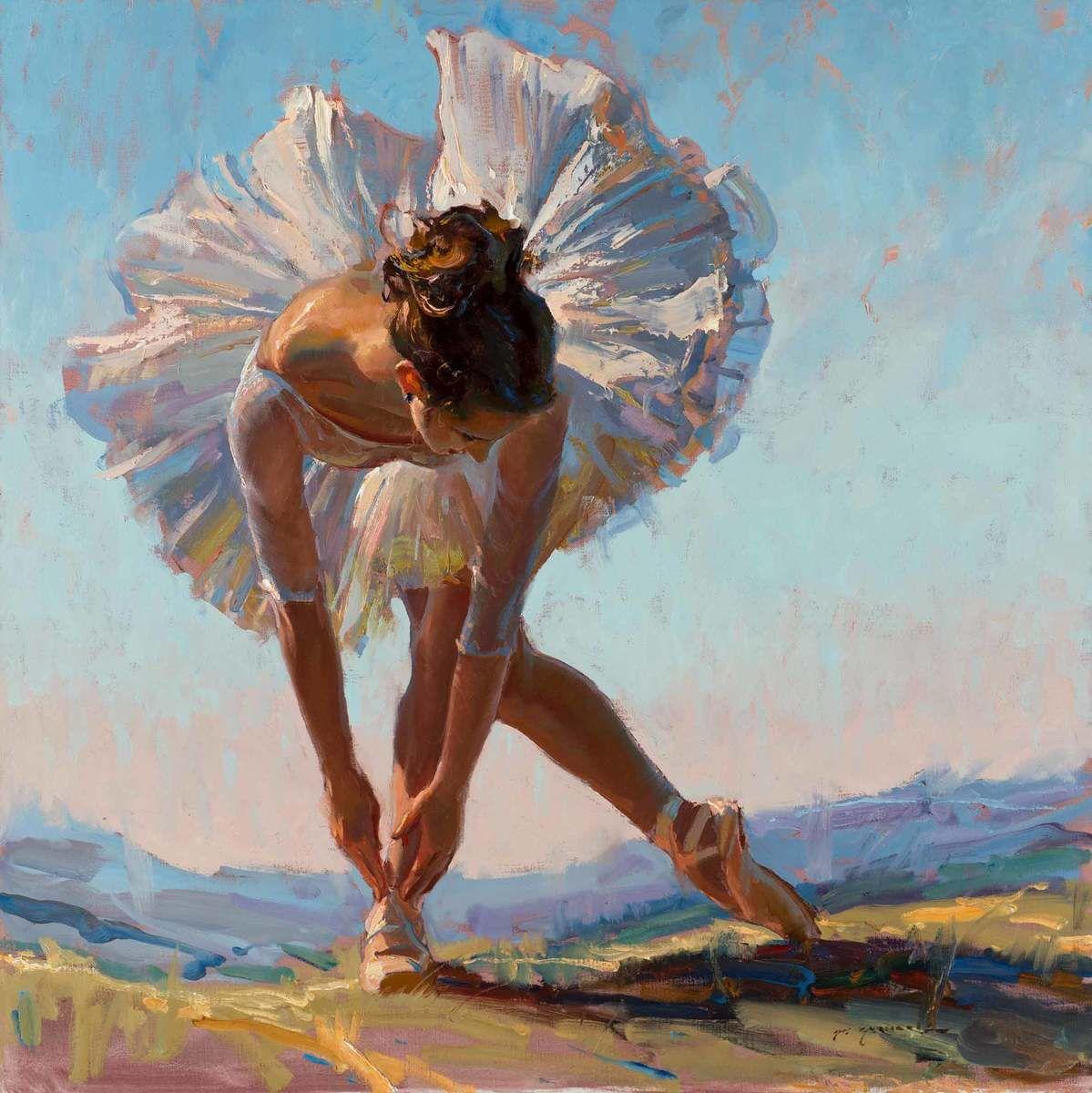 View Original Oil Paintings By Daniel Gerhartz A Living Master Of American Painting Dancer Painting Ballet Art Dance Paintings