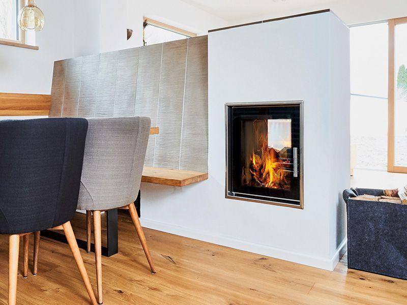 Kaminofen Von Leda Ofen Wohnzimmer Kamin Modern