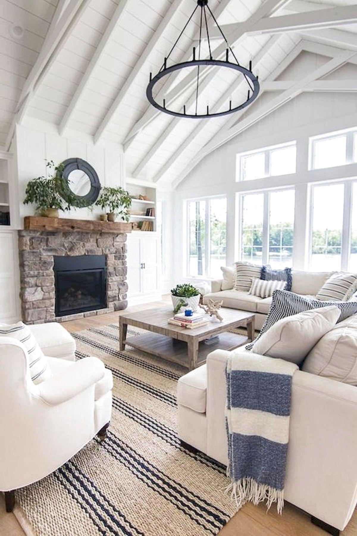 101 Best Farmhouse Living Room Decoration Ideas images