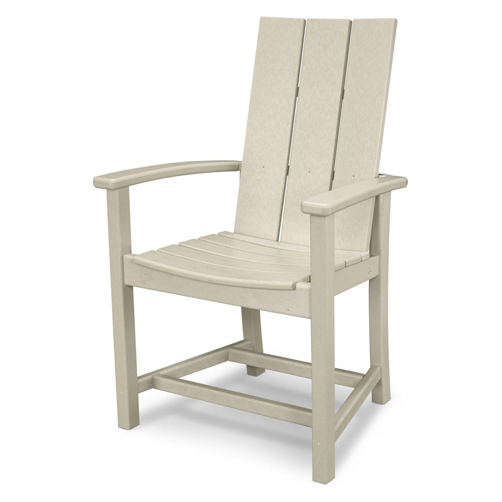 Polywood Modern Trio Adirondack Dining Chair Wooden Pallet