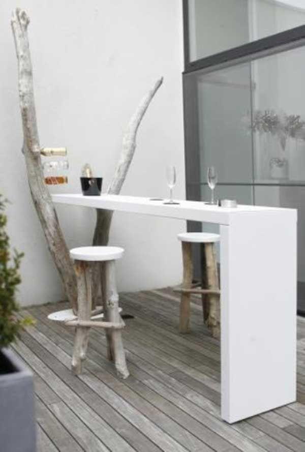 30 ideas para decorar una terraza peque a balconies - Decorar una terraza ...