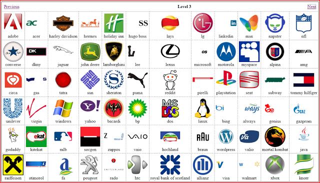 Logo Quiz Solution Level 3 and 4 (met afbeeldingen