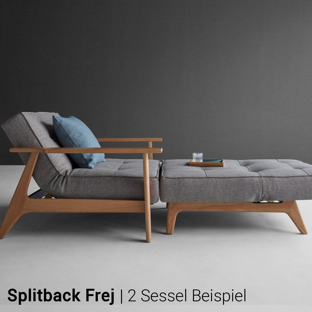 Innovation Sessel Innovation Sessel Splitback Frej Guest Bed Sofa Sofa Chair