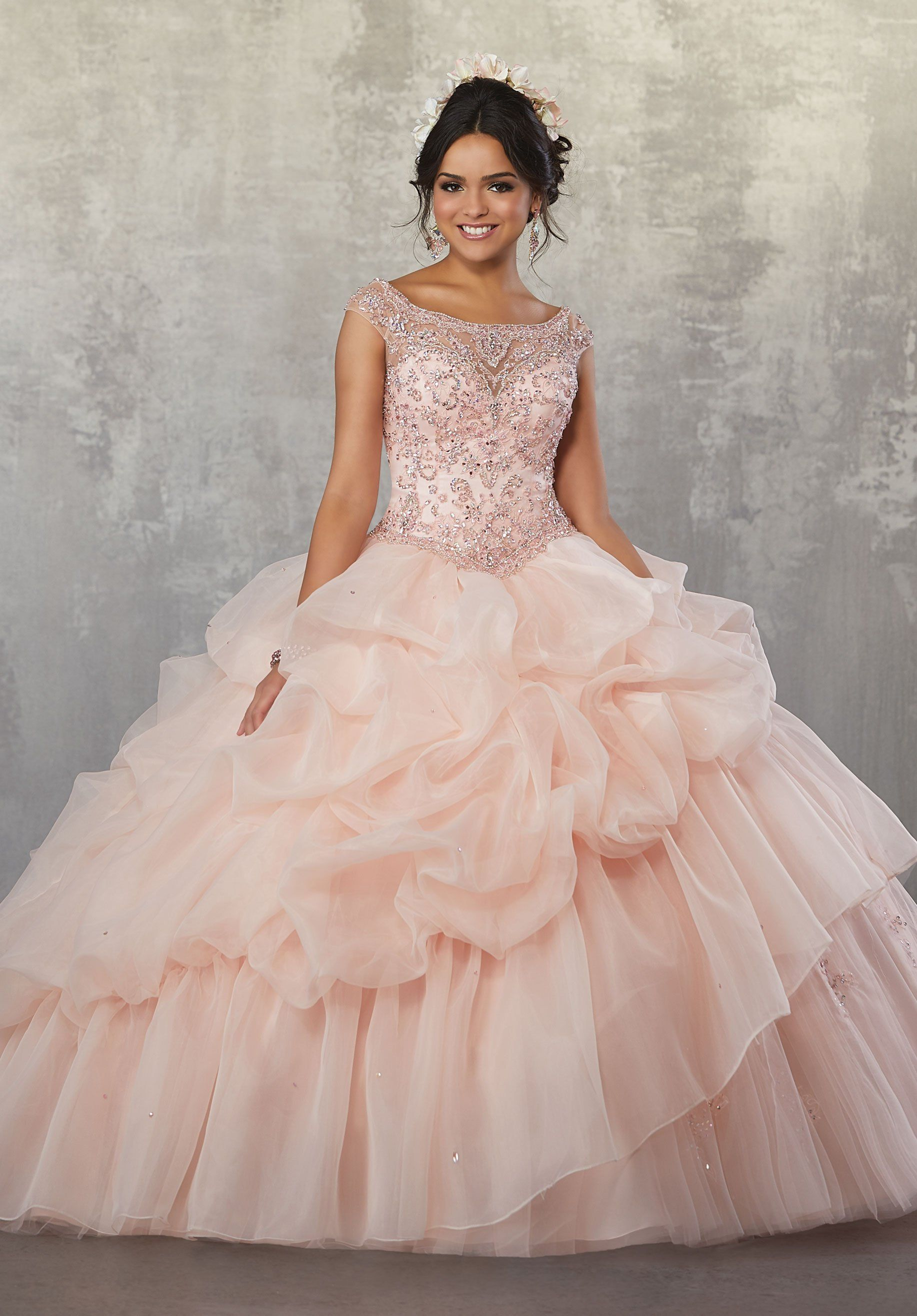 Off the Shoulder Quinceanera Dress by Mori Lee Vizcaya 89167 ...