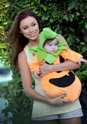 Una and baby Aoife Belle Foden