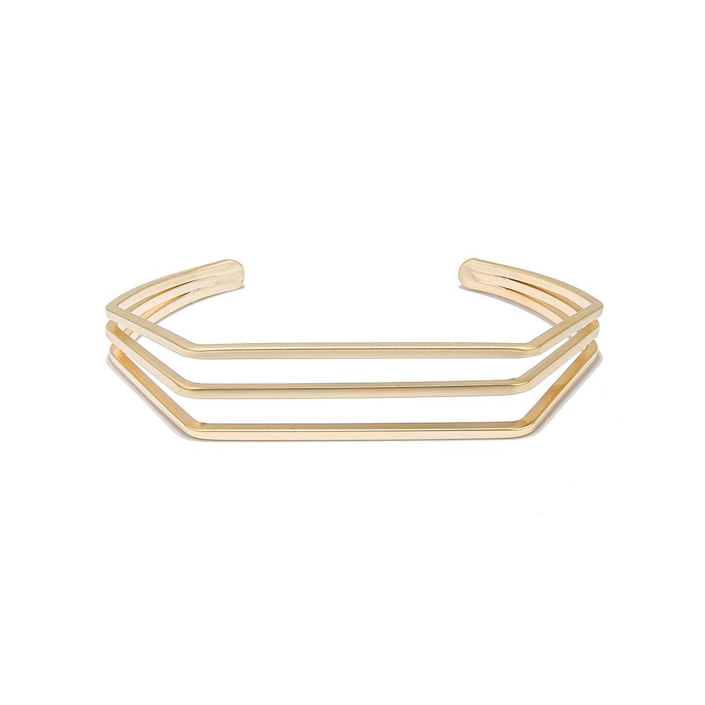 K gold plated hollow cuff bracelet jewelry for women price