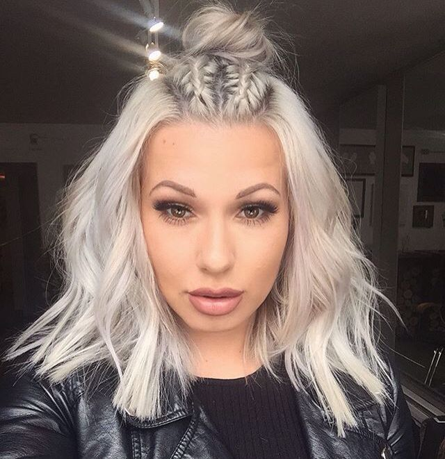 perfect grey hair amazing length