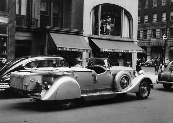 1948 Custom Rolls Royce on Madison Avenue by-Alden-Handy.