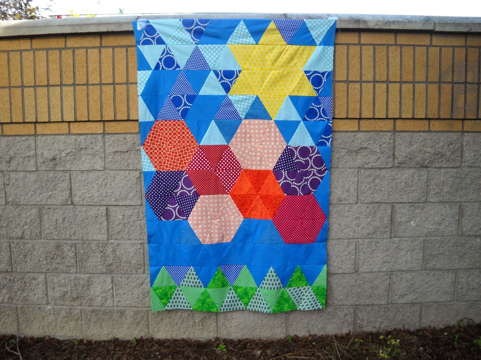 Val's Quilting Studio: Triangle Quilt Along / Wk 4