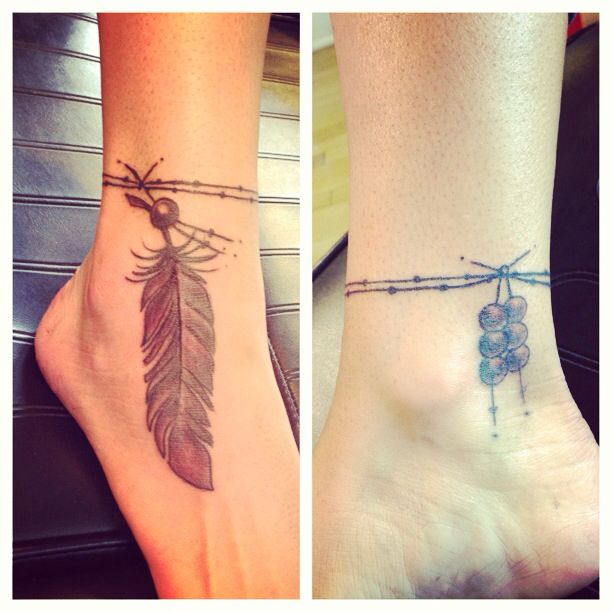 Free spirited tattoo