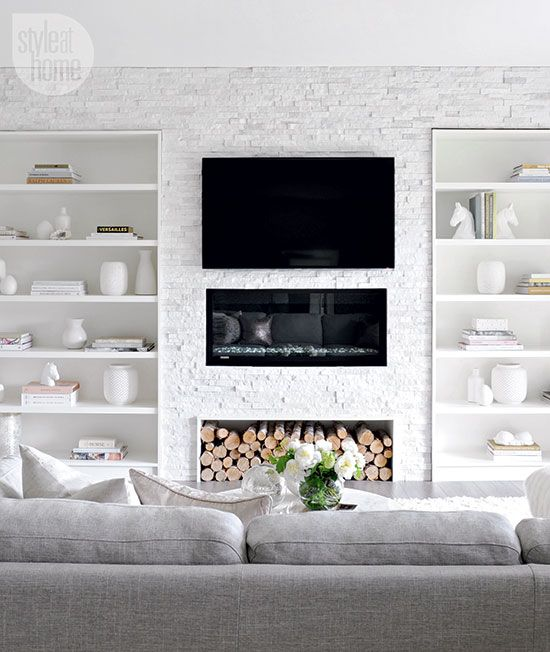 Wall Sconces For Media Room: Get The Look: Modern And Muted Media Room