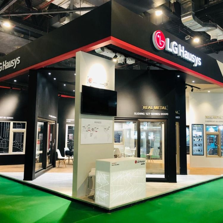 Another epitome of our success in exhibition industry is been set by the team of #sconceglobal when we designed and built stand for LG Hausys during Zak Doors and Windows Expo 2019, from 12th to 15th December 2019 in Pragati Maidan, New Delhi. Stay tuned and Reach us @sconceglobal for any queries or doubts. #sconceglobal #exhibition #exhibitiondesign #creative #Delhi #LG #Zakdoors&windows #event #expo2019 #tradeshow #exhibitionstand #boothdesign