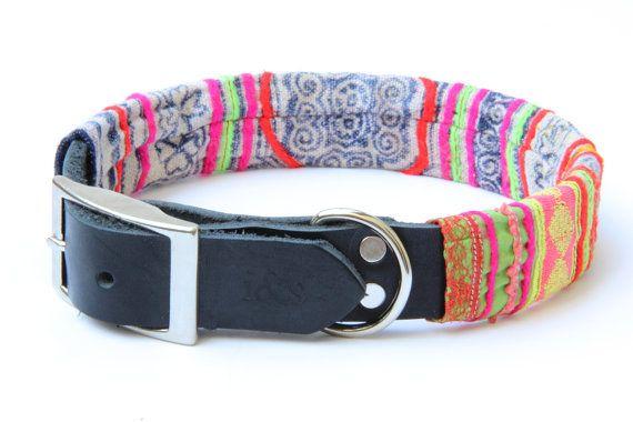 Dog Collar Sleeve // Neon Indigo // SLEEVE ONLY by ikeandstella, $20.00