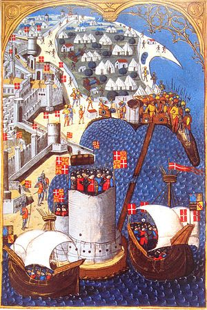 Siege Of Rhodes 1480 Wikipedia The Free Encyclopedia Medieval Medieval Paintings Knights Hospitaller