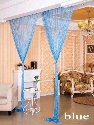 Multi Color String Curtain Fringe Panel Room Divider: Pin On Creacasa
