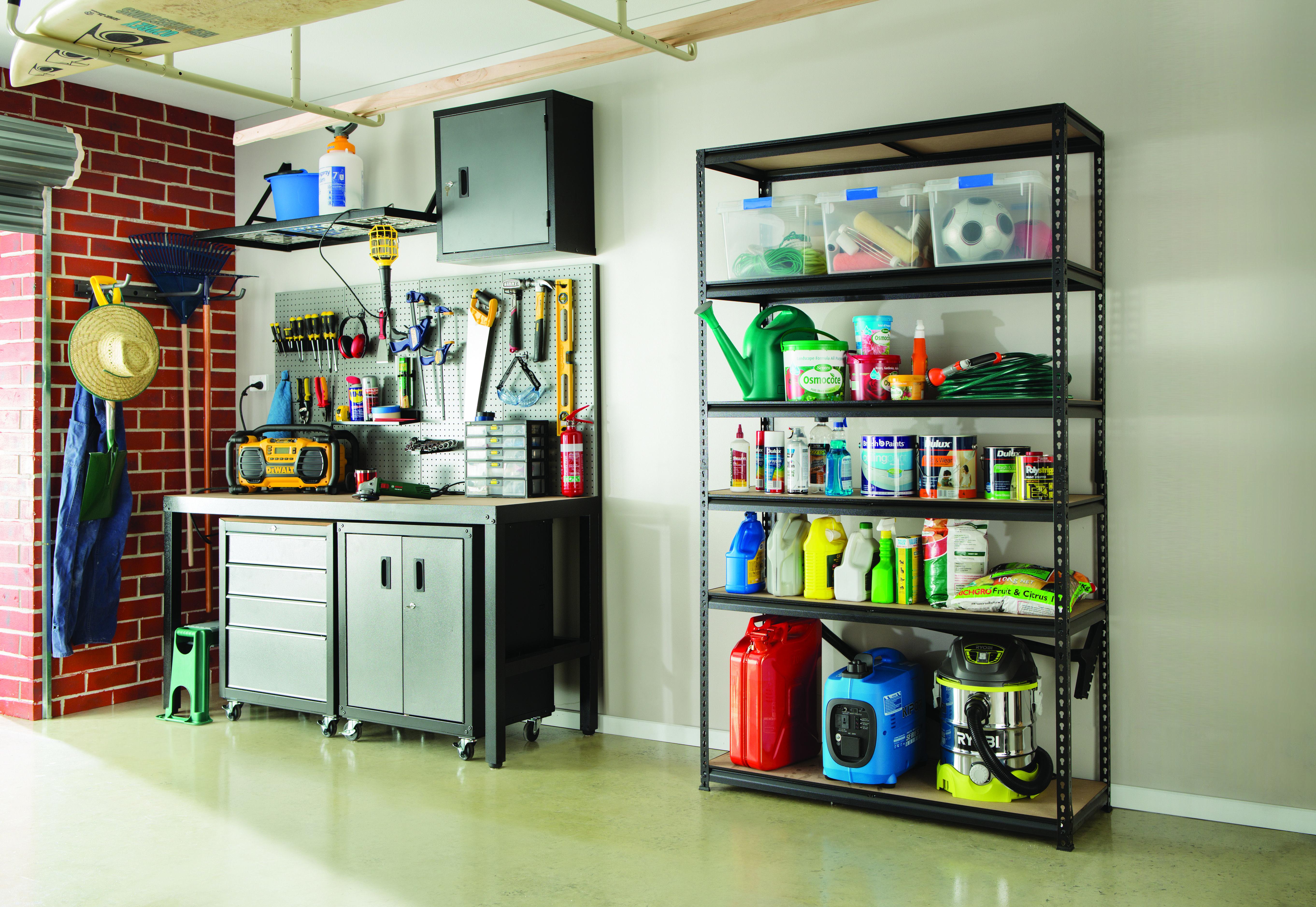 Garage Storage Shelving Organised Garage Storage In 2018