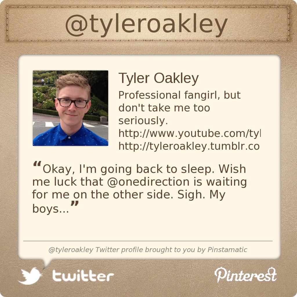 @tyleroakley's Twitter profile courtesy of @Pinstamatic (http://pinstamatic.com)