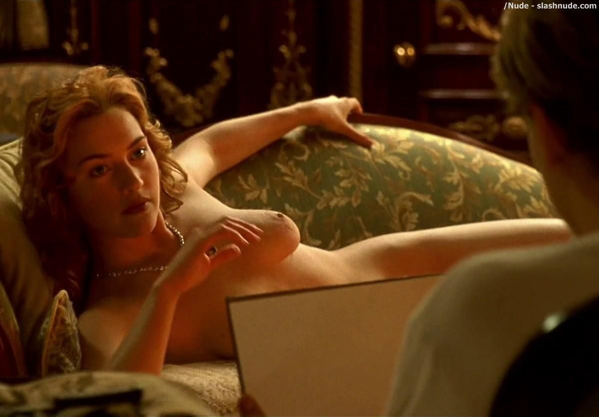 Naked pictures winslet Kate