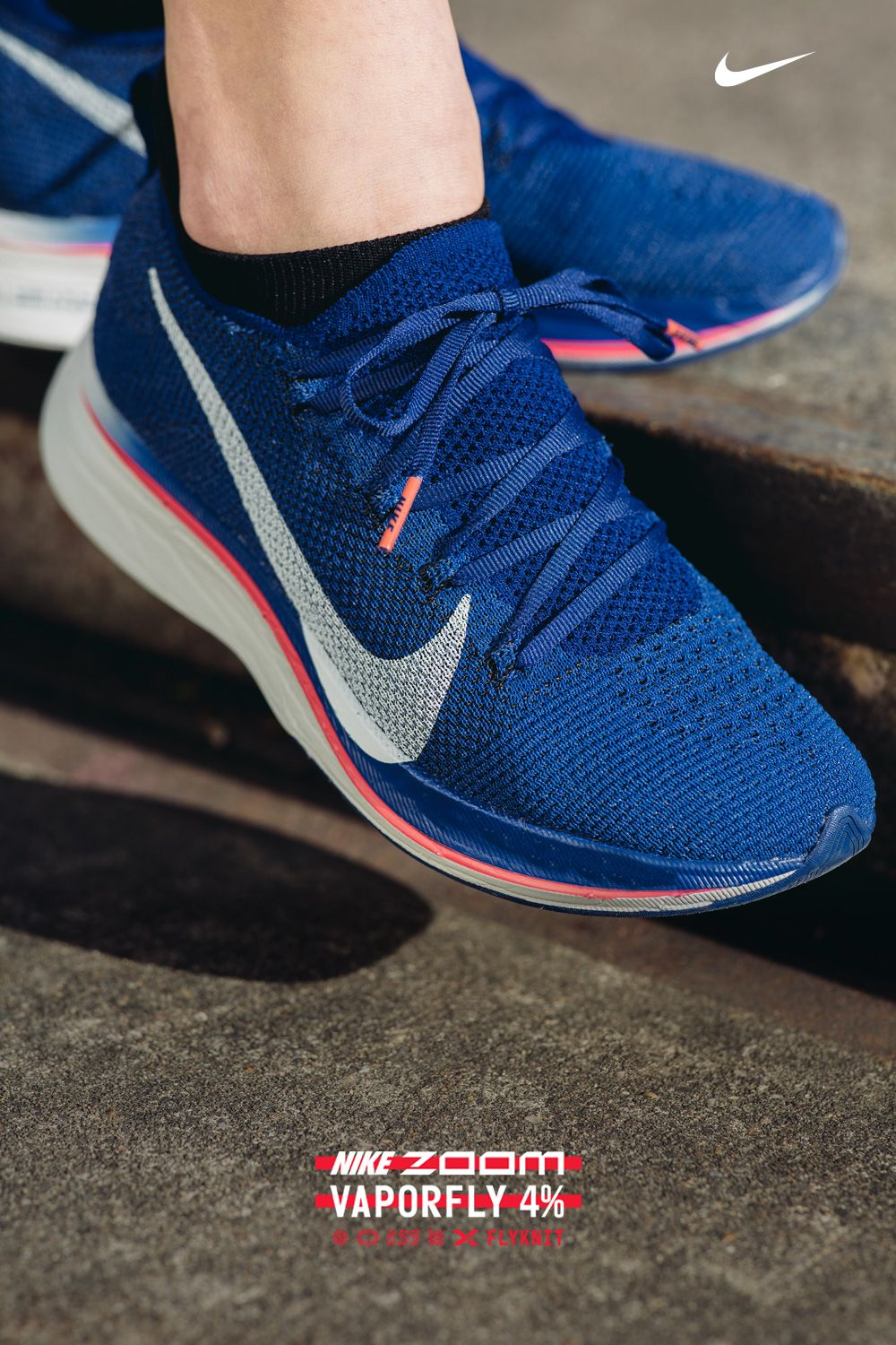 newest be5cc bbe1b Our fastest shoe. Ever. Nike Zoom 4% Flyknit. Lab tested. Race