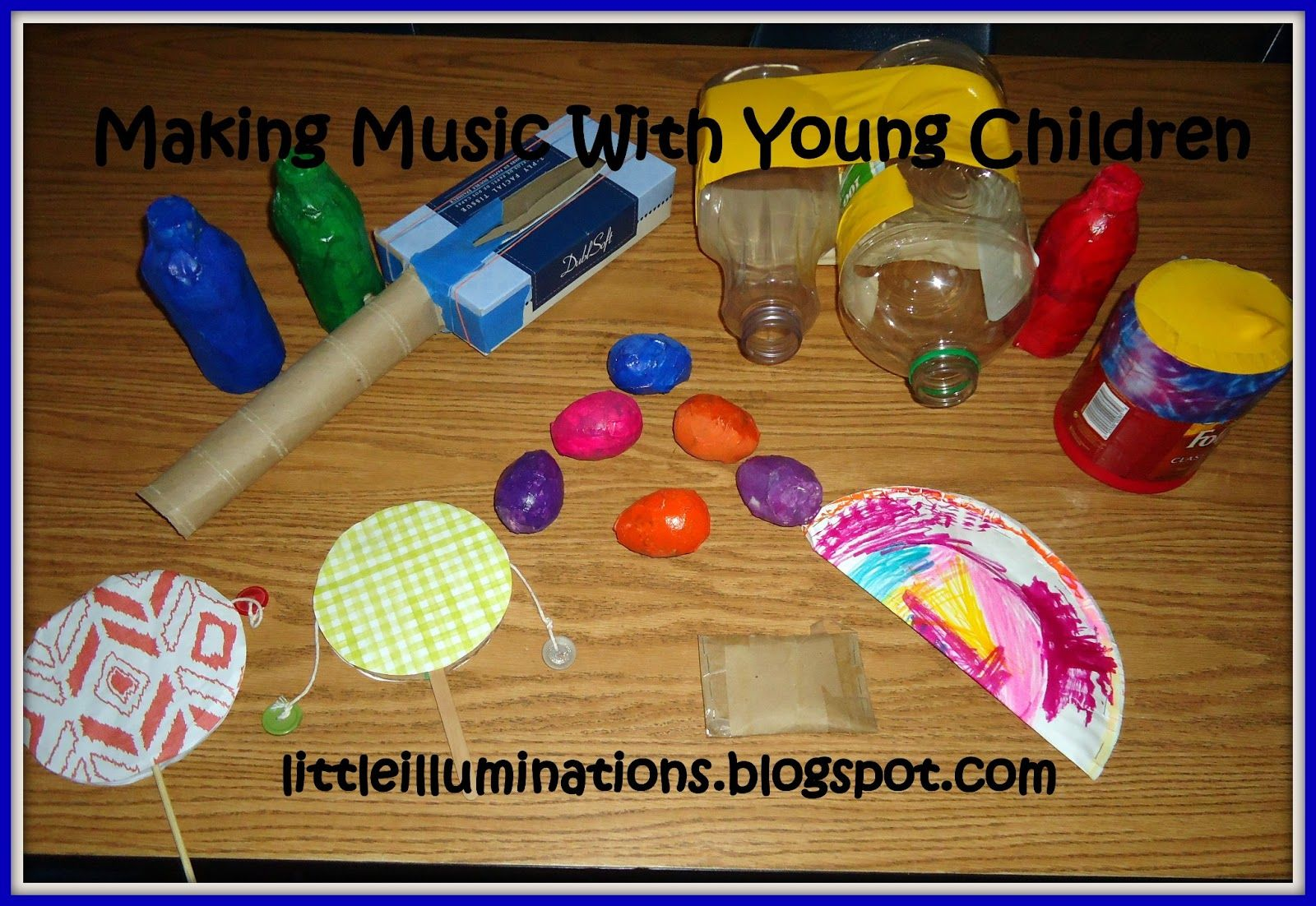 Musical Instruments Worksheets For Preschoolers
