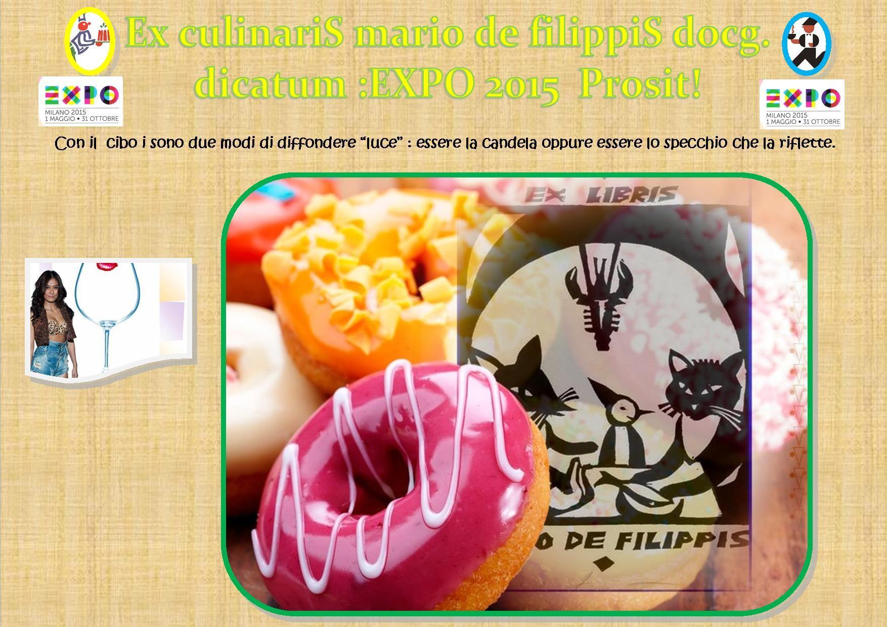 expo 2015 ex libris cucina mario de filippis