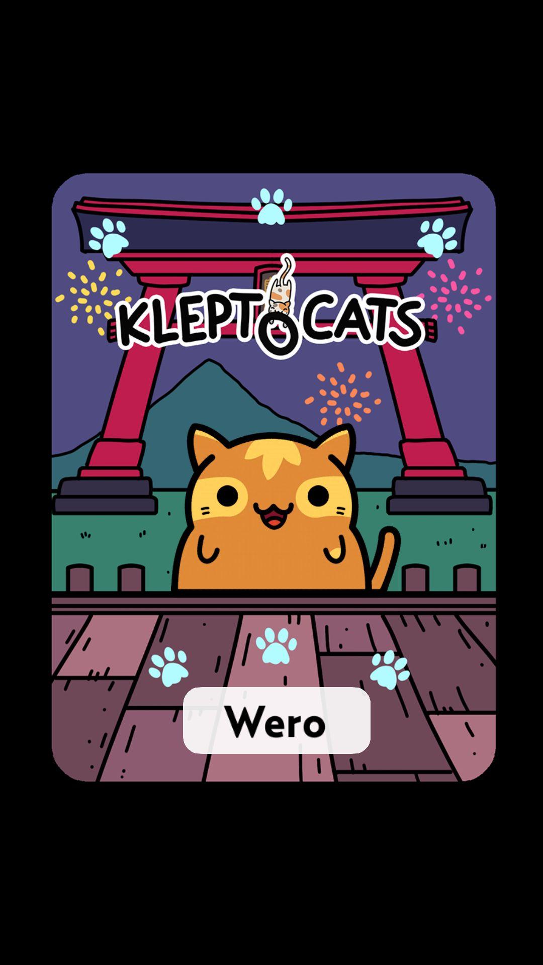 #KleptoCats 這是我毛呼呼的新朋友。 #iOS www.kleptocats.com/install