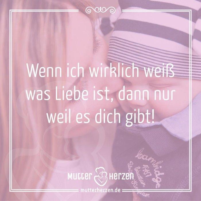 Wissen was Liebe ist …   Mehr schöne Sprüche auf: www.mutterherzen.de  #liebe #lieben #mutterliebe #kinder #lieblingsmensch