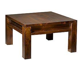Tavolino Poggiapiedi ~ Tavolino in sheesham escana 60x35x60 cm arredi rustici e