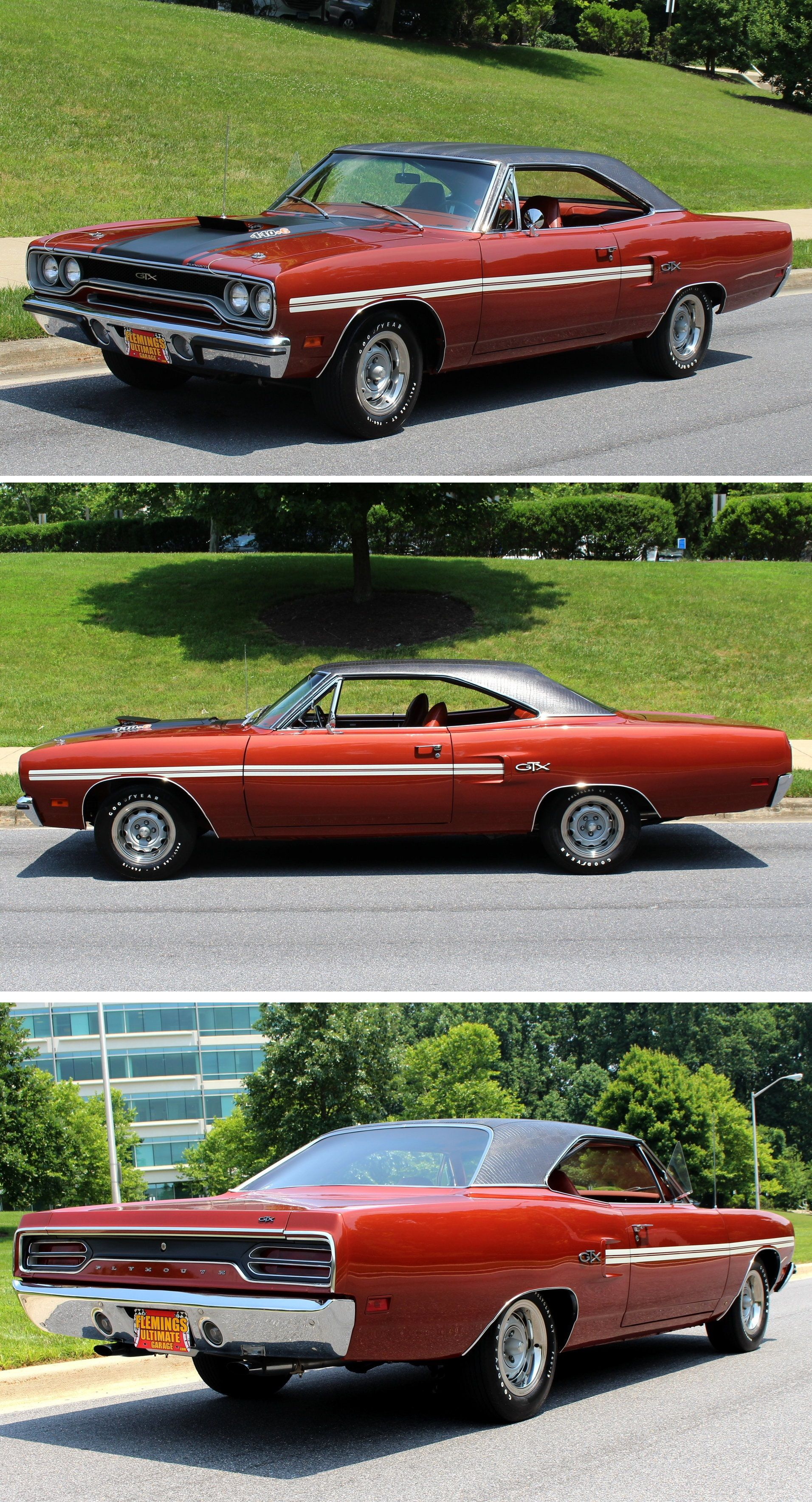 1970 Plymouth Gtx Beautifully Restored Example Of This Iconic