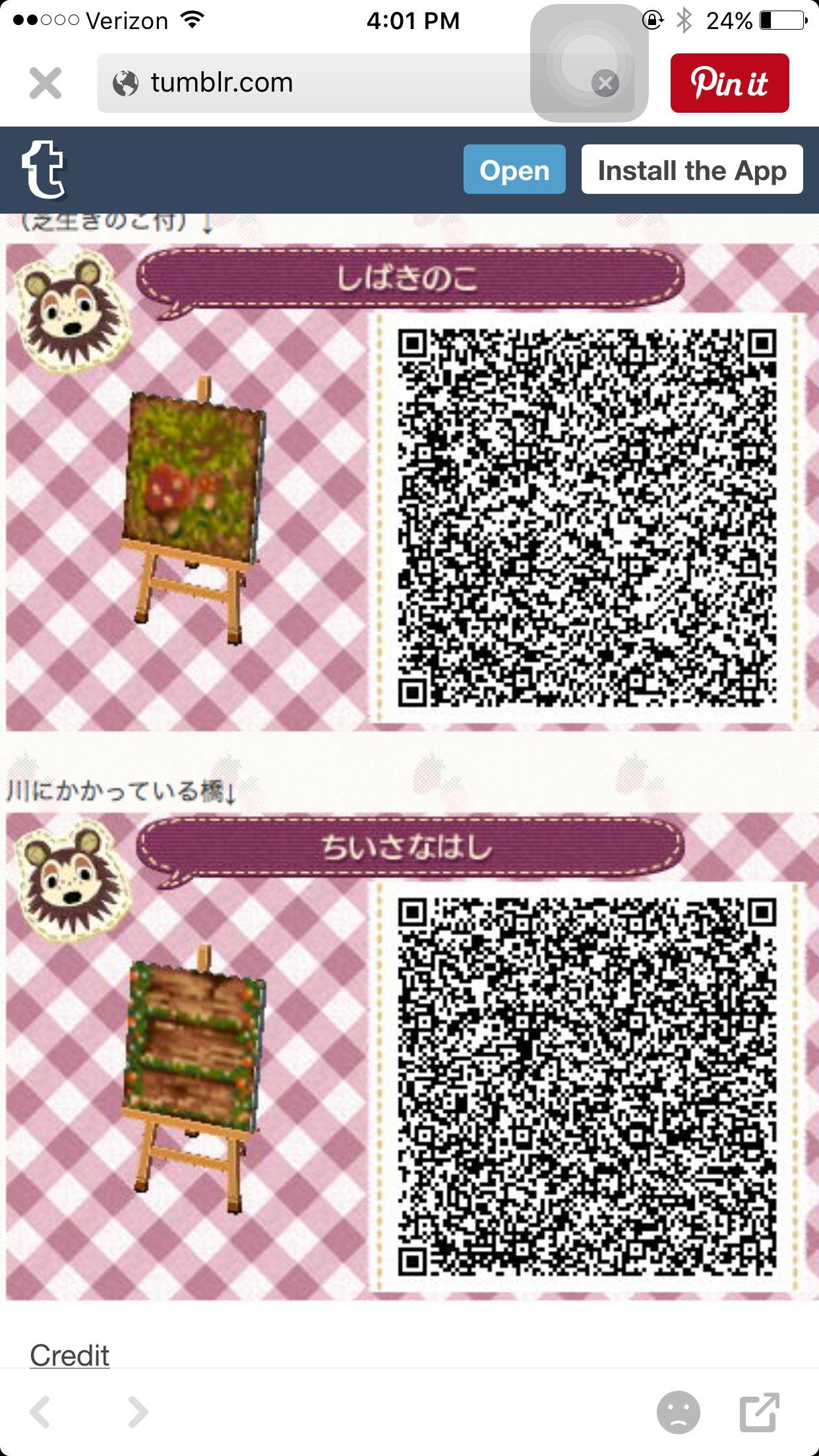 Fall Qr Code Part 22 Acnl Animal Crossing Animal Crossing Qr