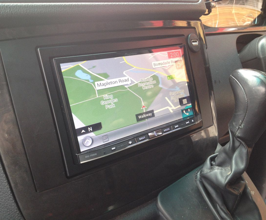 pioneer avic f60dab navigation dab radio installed in. Black Bedroom Furniture Sets. Home Design Ideas