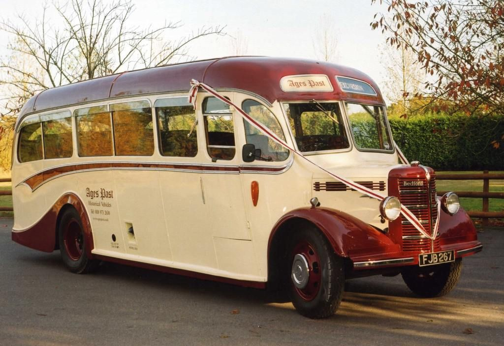 1949 Vintage Bedford Wedding Bus In Hampshire