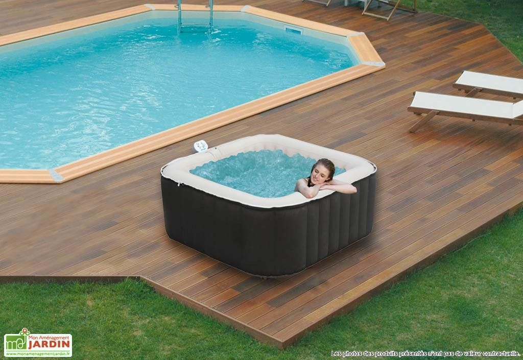 Jacuzzi gonflable ext rieur super spark jacuzzi for Reglementation spa exterieur