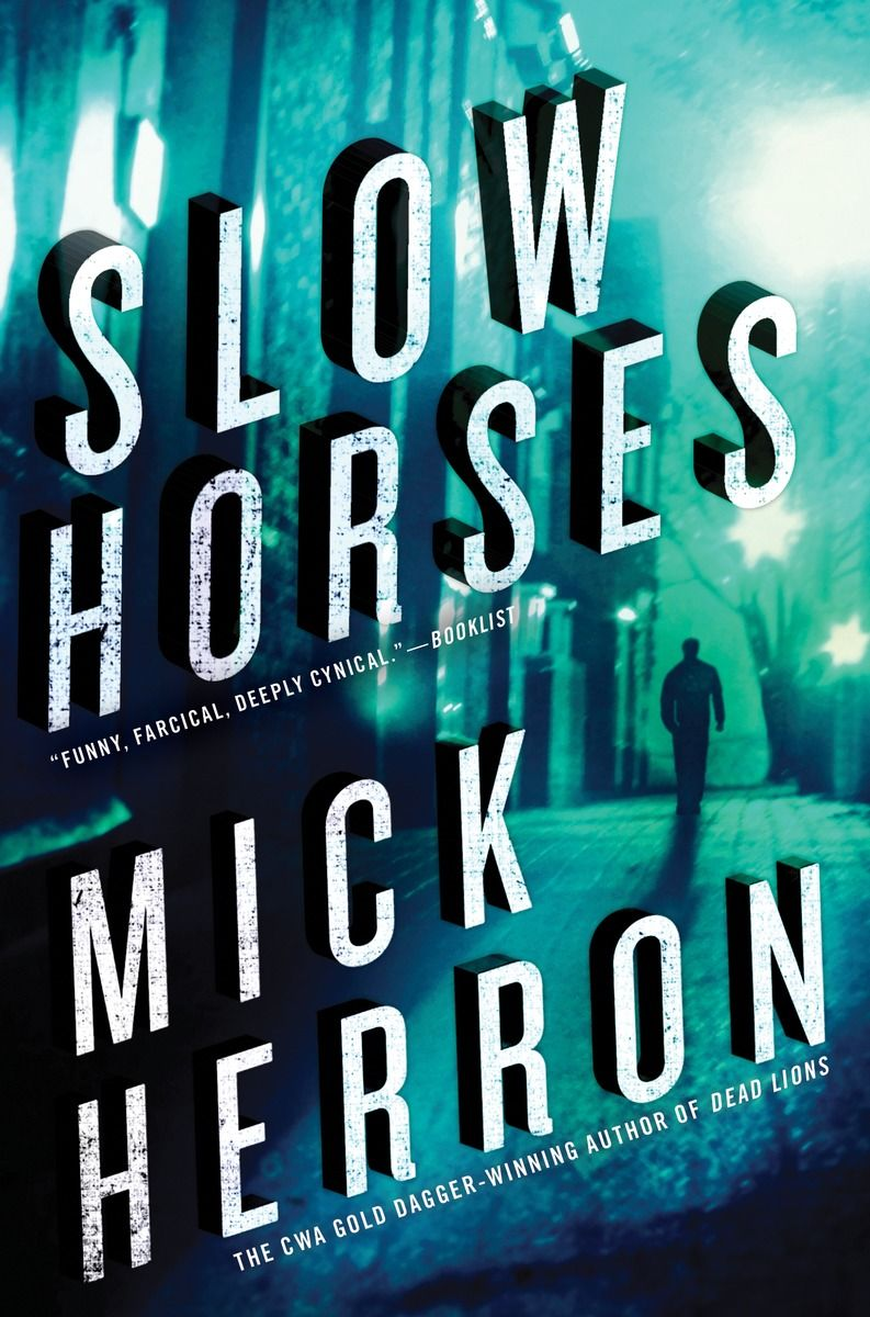Slow horses by mick herron house book books slough