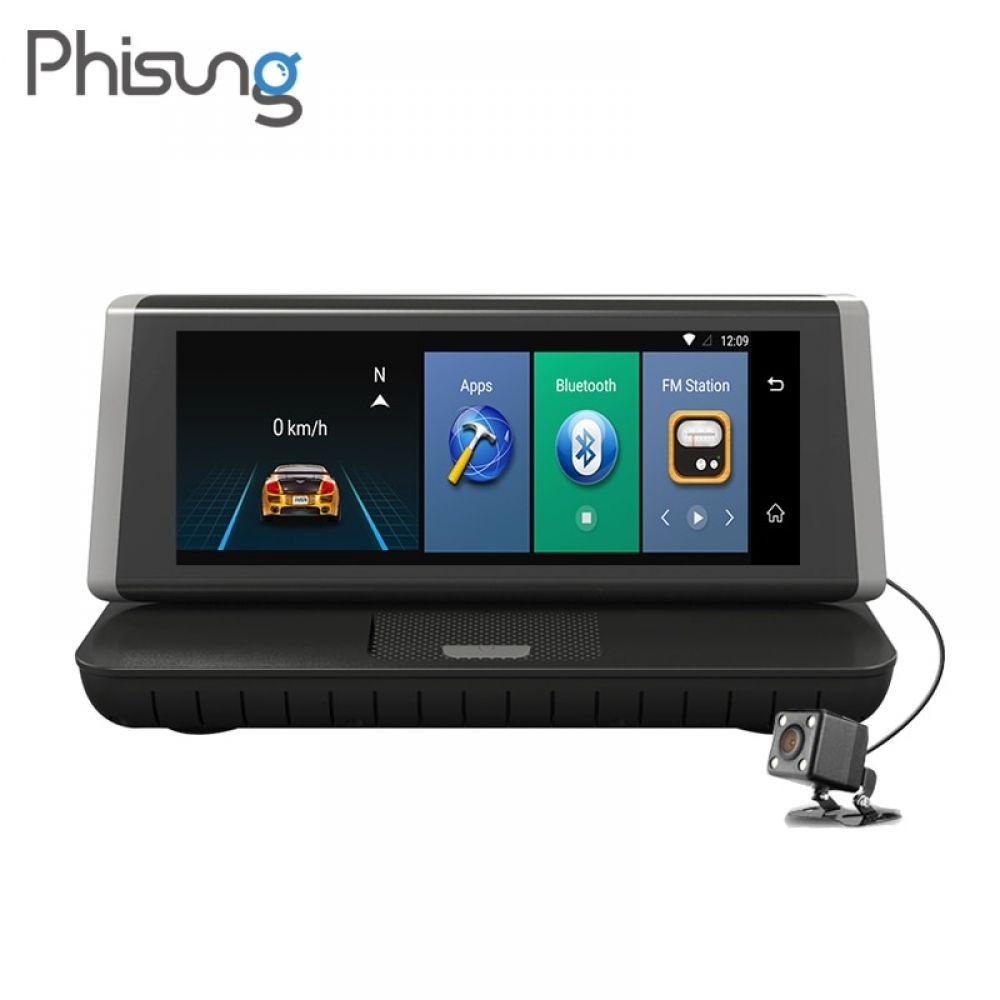"8/"" IPS 4G Car DVR GPS Navigation Android 5.1 ADAS FHD 1080P Dash camera Recorder"