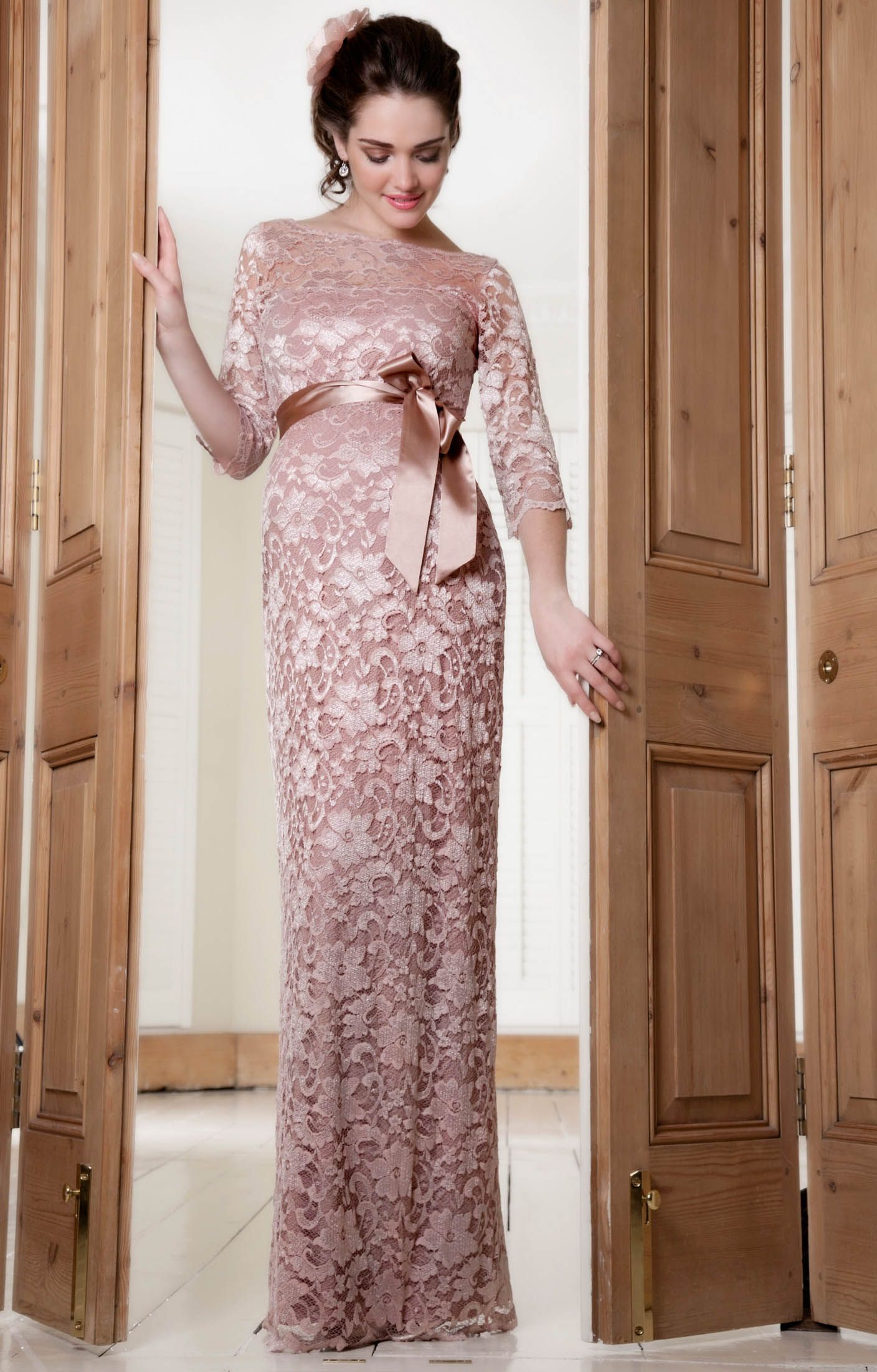 Online buy wholesale long sleeve maternity gown burgundy from weve been anxiously sitting on this news and now were thrilled to be the first to reveal that top british special occasion maternity label tiffany rose ombrellifo Gallery