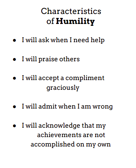 Humble Meaning: Humility Definition: (noun) A