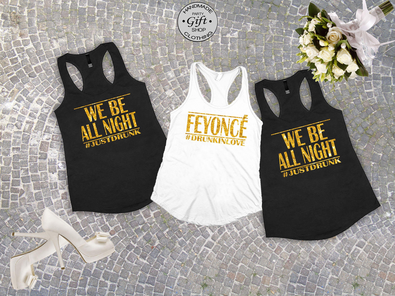 Bachelorette TanksFeyonceI Slay Bridal Party Shirts Bridesmaid Gift