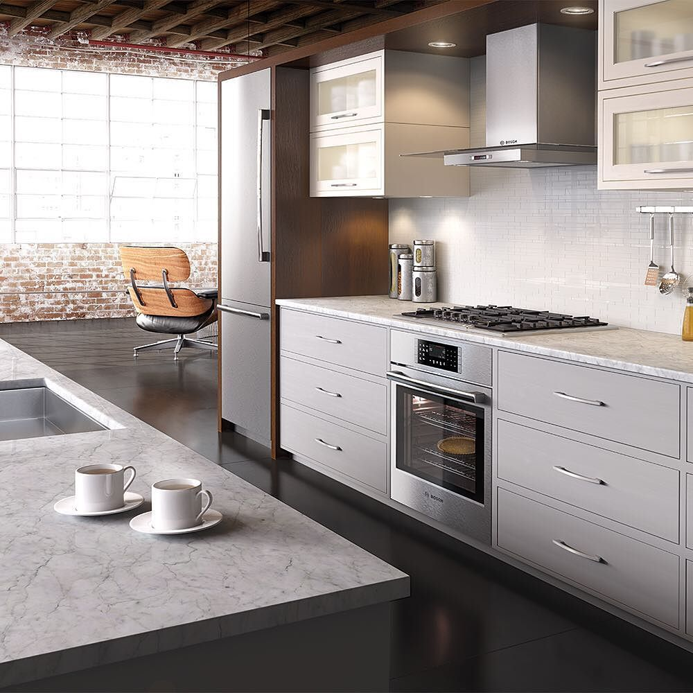 What does your dream kitchen look like? @boschhomeus' newest appThe Bosch Kitchen Experience and Designlets you create a kitchen designed around your life. (Clearly what dreams are made of.) Download it today. Link via our profile!