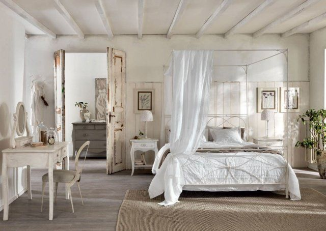 1000 images about chambre style romantique on pinterest coiffures studios and raised beds - Chambre Romantique Deco