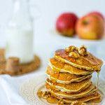 mini apple pancakes