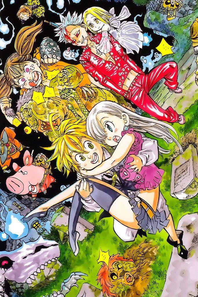 Photo of Nanatsu No Taizai Meliodas Anime Poster
