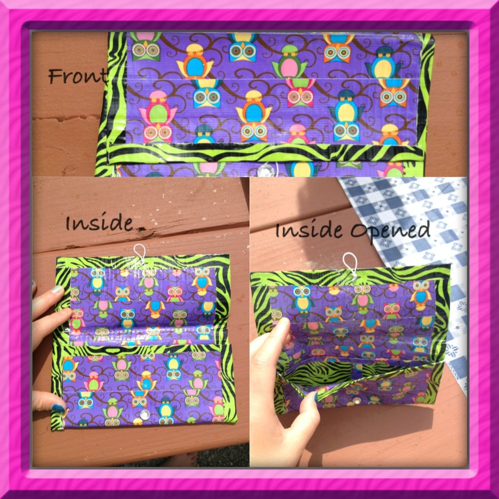 Duct Tape Wallet Mackus Faves Pinterest Wallets Duct tape and