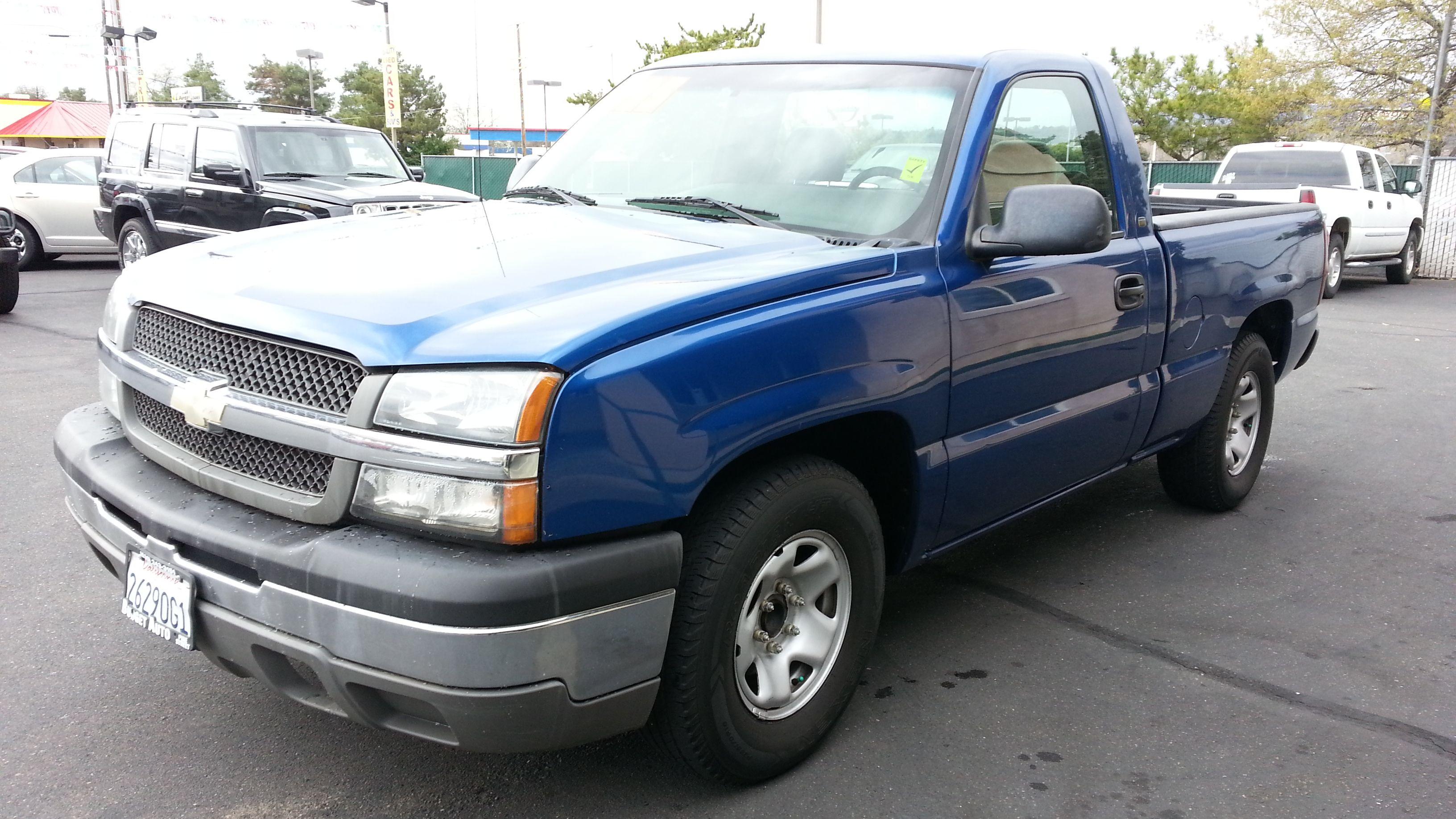 2003 chevrolet silverado 1500 truck regular cab 7495
