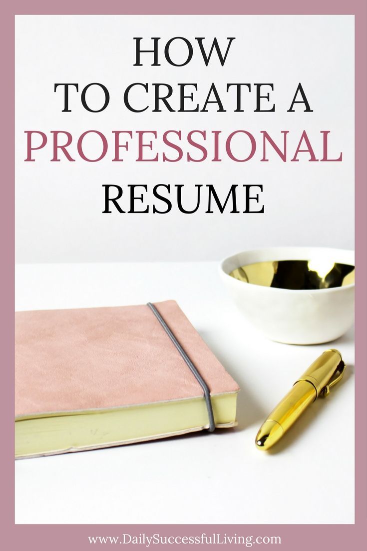 How To Make A Resume For A First Job How To Create A Professional Resume  Professional Resume Create .