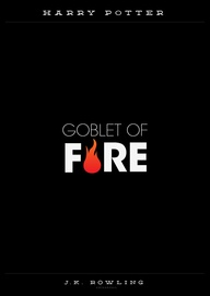 Minamalist Harry Potter and the Goblet of Fire Poster