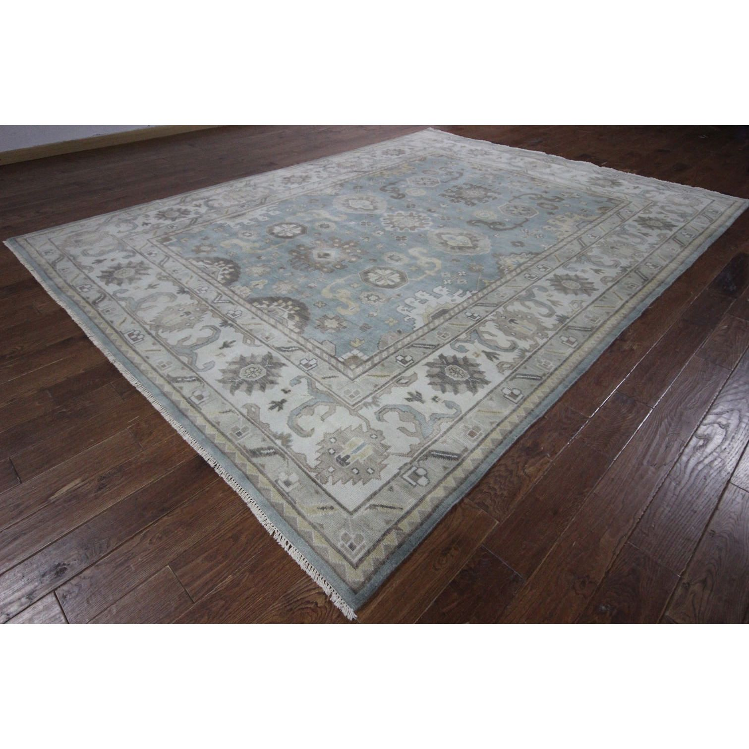 Manhattan H9164 Oushak Hand-knotted Oriental Area Rug