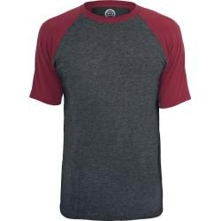 Photo of Red by Emp Raglan Contrast T-Shirt Red by Emp