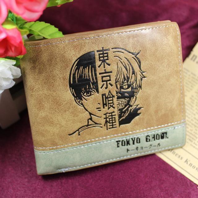 Photo of Woman/Man Wallet new Fashion Cartoon Anime Student Purse Chopper/Totoro/Naruto/Conan Edgar/Attack on Titan Cool brown Billfold – 16